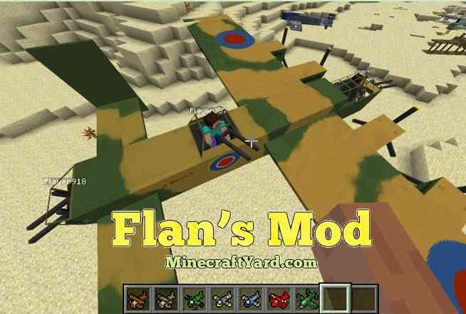 Flan's Mod 1.13.1/1.13/1.12.2/1.11.2
