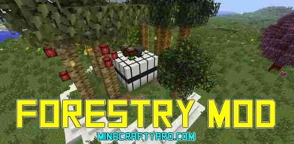 Forestry Mod 1.11.2/1.10.2/1.9.4