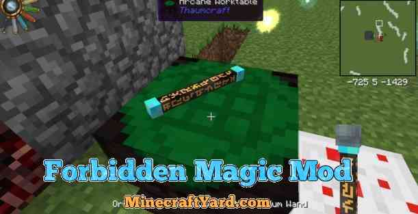 Forbidden Magic Mod 1.11/1.10.2/1.9.4