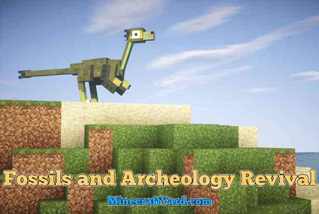 Fossils and Archeology Revival Mod 1.13.1/1.13/1.12.2/1.11.2