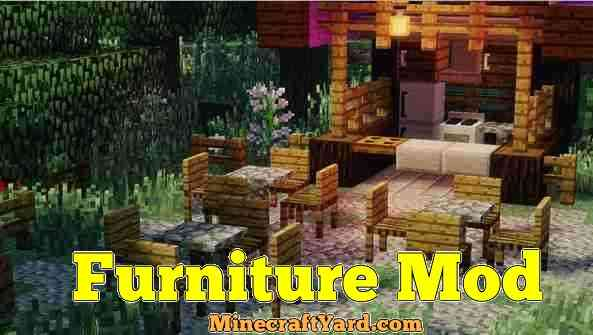 Furniture Mod 1.13.1/1.13/1.12.2/1.11.2