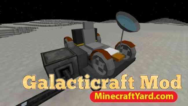 GalactiCraft Mod 1.12.2/1.12.1/1.11.2