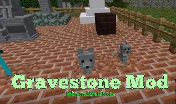 Gravestone Mod 1.14.4/1.13.2/1.12.2/1.11.2