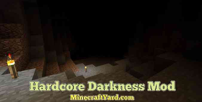 Harcore Darkness Mod 1.11.2/1.10.2/1.9.4