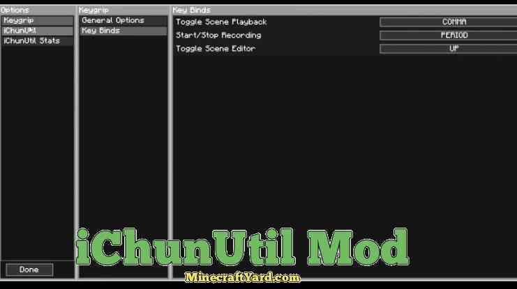 iChun Util Mod 1.11/1.10.2
