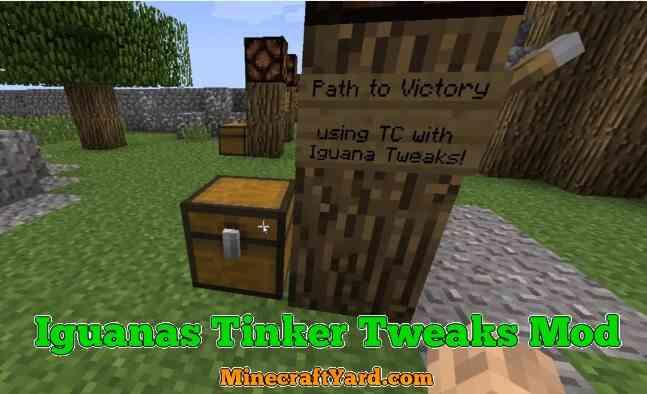 Iguanas Tinker Tweaks Mod 1.11.2/1.10.2/1.9.4