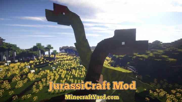 JurassiCraft Mod 1.11/1.10.2