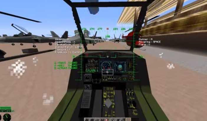 MCHeli Minecraft Helicopter Mod
