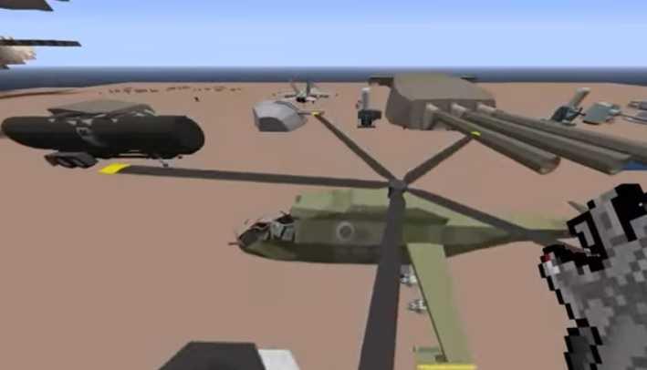 MCHeli Minecraft Helicopter Mod 3