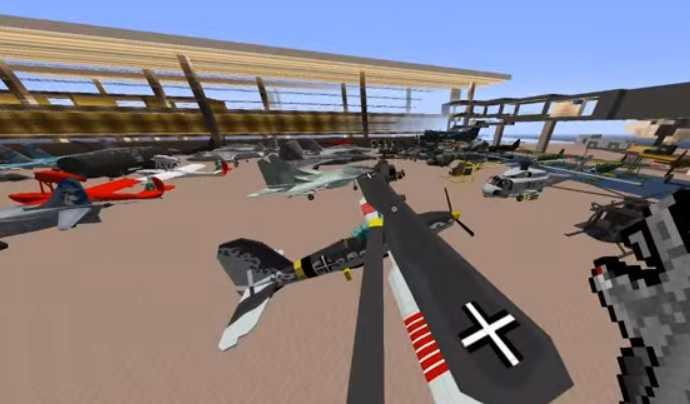 MCHeli Minecraft Helicopter Mod 4