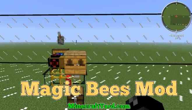 Magic Bees Mod 1.11.2/1.10.2