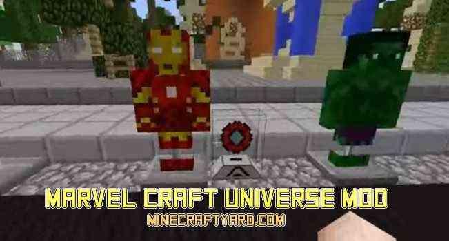 Marvel Craft Universe Mod 1.13.1/1.13/1.12.2/1.11.2