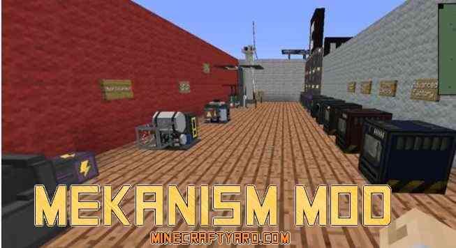 Mekanism Mod 1.11/1.10.2