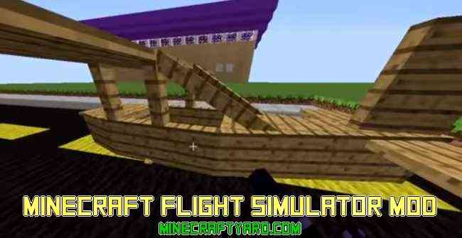 Minecraft Flight Simulator 1.13.1/1.13/1.12.2/1.11.2