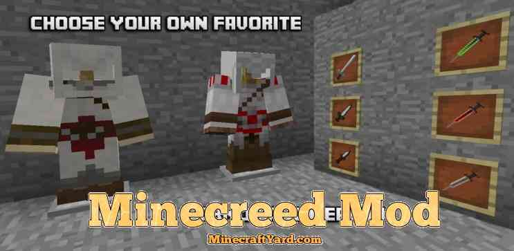 Minecreed Mod 1.11.2/1.10.2