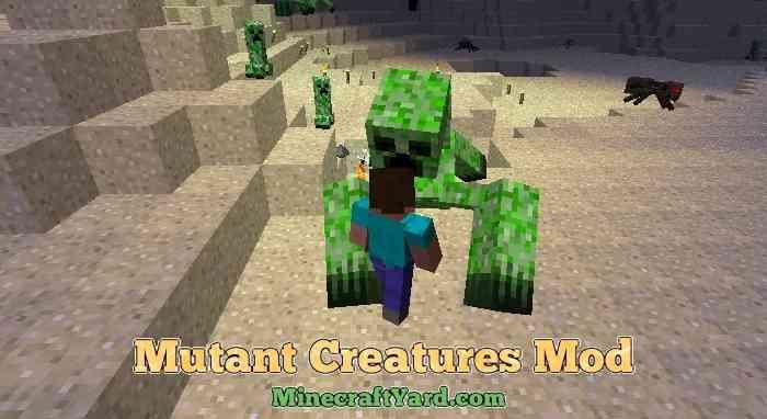 Mutant Creatures Mod 1.11.2/1.9.4