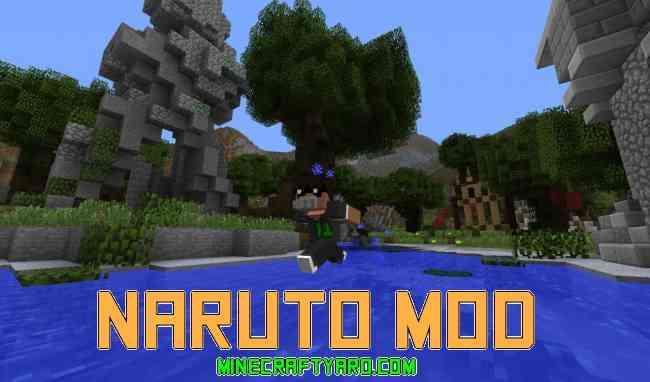 Naruto Mod 1.13.1/1.13/1.12.2/1.11.2