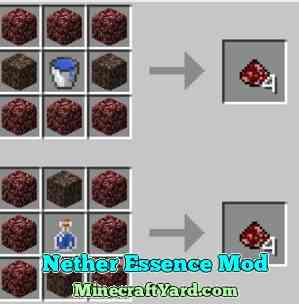 Nether Essence Mod 1.12.1/1.11.2/1.10.2