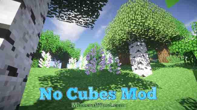 No Cubes Mod 1.11.2/1.10.2