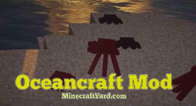 OceanCraft Mod 1.12.2/1.11.2