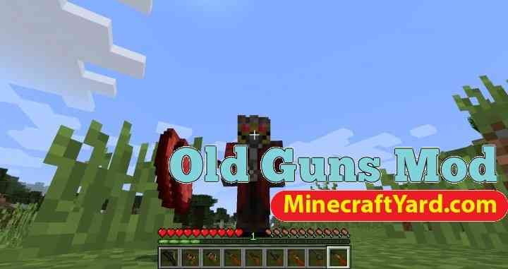 Old Guns Mod 1.11.2/1.10.2