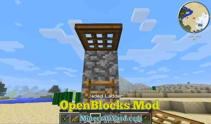 Open Blocks Mod 1.10/1.9.4/1.9
