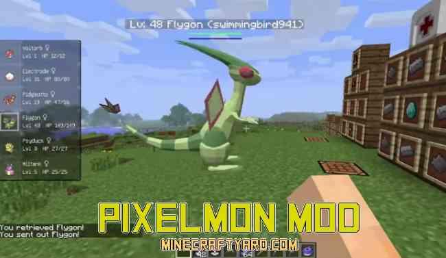 Pixelmon Mod 1.13.1/1.13/1.12.2/1.11.2