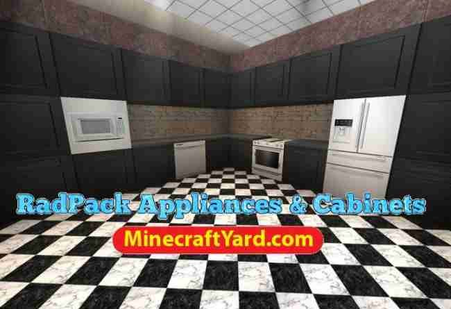 Radpack Appliances and Cabinets Mod 1.14/1.13.2/1.12.2/1.11.2
