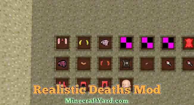 Realistic Deaths Mod 1.12.1/1.11.2