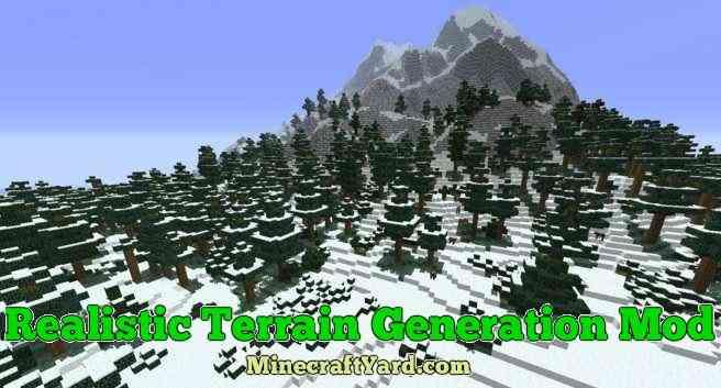 Realistic Terrain Generation 1.11.2/1.10.2/1.9.4