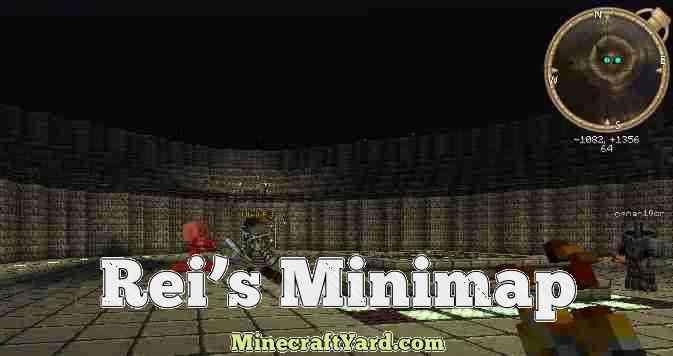 Rei's Minimap Mod 1.11.2/1.10.2