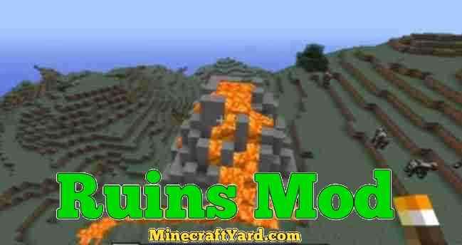 Ruins Mod 1.11.2/1.11/1.10.2