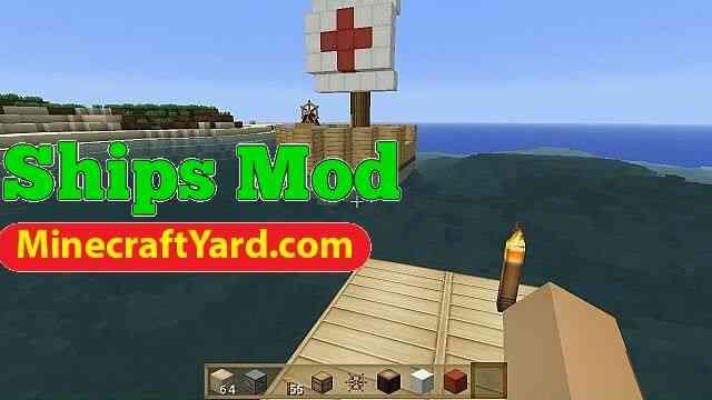 Ships Mod 1.10/1.9.4/1.9