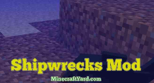 ShipWrecks Mod 1.12.1/1.11.2