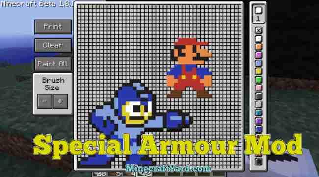Special Armor Mod 1.13.1/1.13/1.12.2/1.11.2