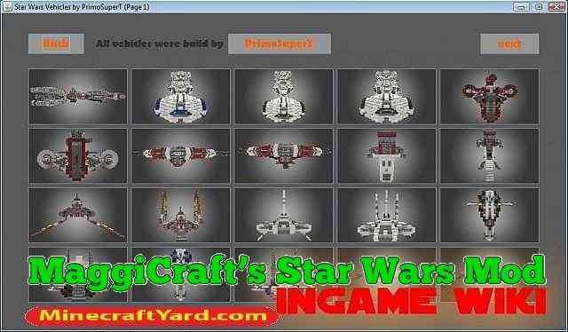 MaggiCraft's Star Wars Mod 1.13.1/1.13/1.12.2/1.11.2