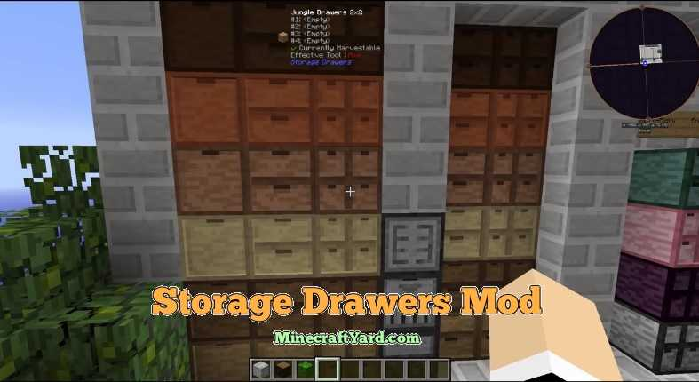 Storage Drawers Mod 1.11.2/1.11