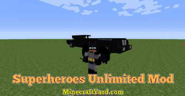 Superheroes Unlimited Mod 1.11/1.10.2/1.9.4