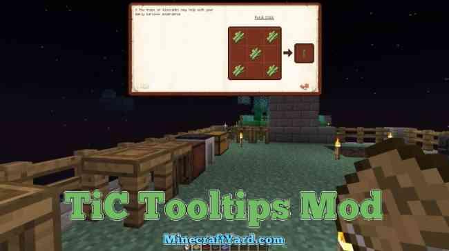 TIC Tooltips Mod 1.12.2/1.11.2
