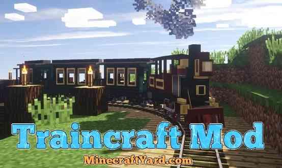 Traincraft Mod 1.13.1/1.13/1.12.2