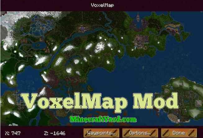 Voxel Map 1.14/1.13.2/1.12.2/1.11.2