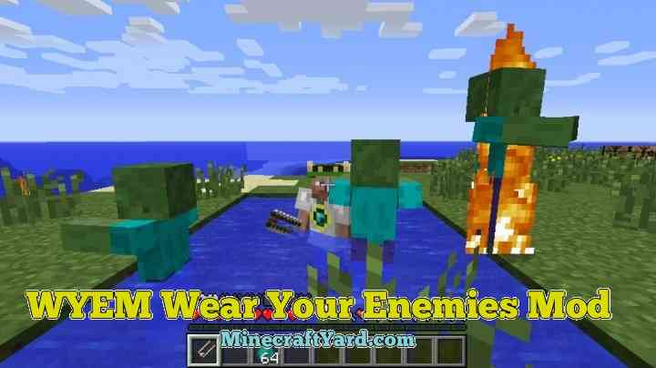 WYEM Wear Your Enemy Mod 1.13.1/1.13/1.12.2/1.11.2