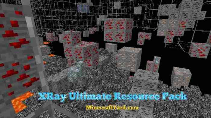 XRay Ultimate Resource Pack 1.12.1/1.12/1.11.2