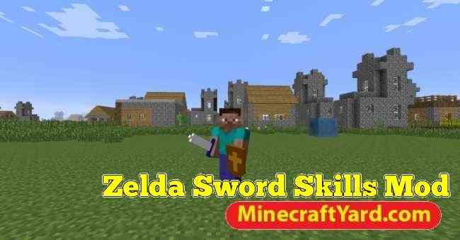 Zelda Sword Skills Mod 1.12.1/1.11.2
