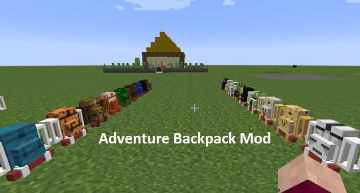 Adventure Backpack Mod 1.10.2/1.9.4/1.9