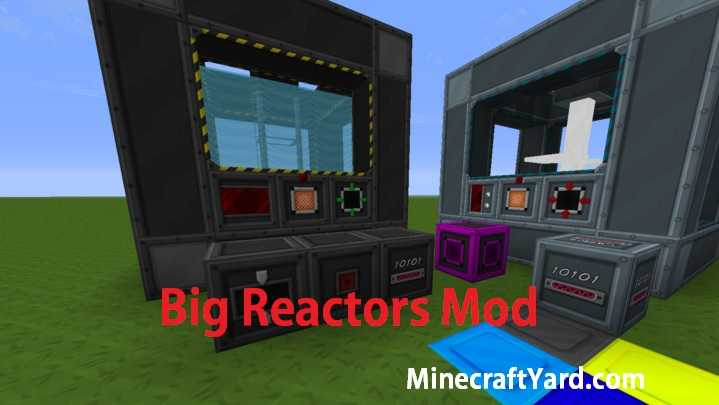 Big Reactors Mod 1.13.1/1.13/1.12.2
