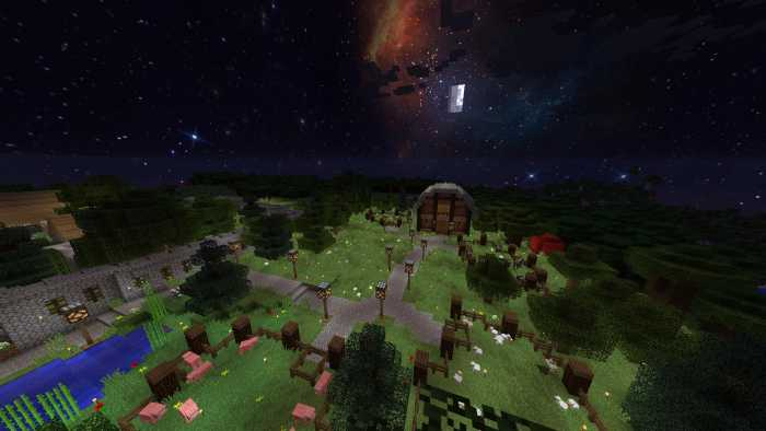 Custom Sky Resource Pack 1