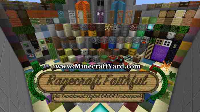 Faithful 64x64 Resource Pack 1.10.2/1.9.4/1.8.9