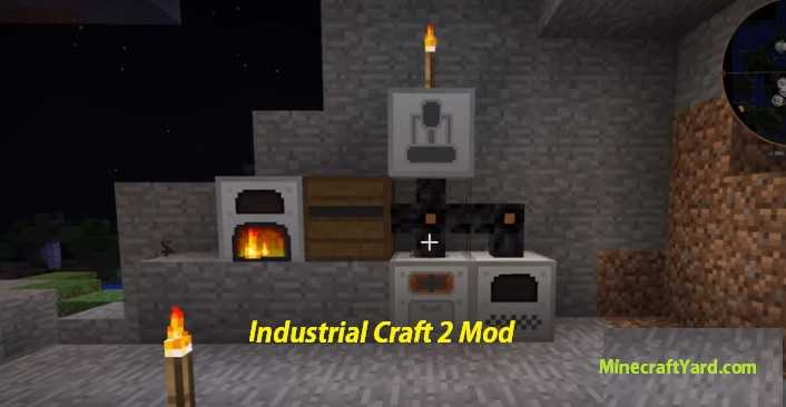 Industrial Craft 2 Mod 1.14/1.13.2/1.12.2/1.11.2