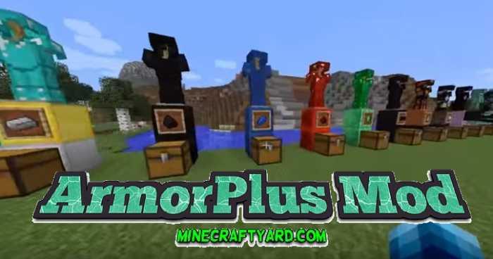 ArmorPlus Mod 1.11/1.10.2/1.9.4